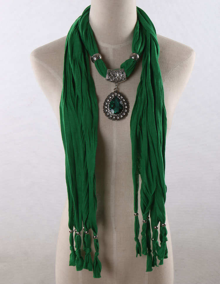 green pendant scarves wholesale china scarf