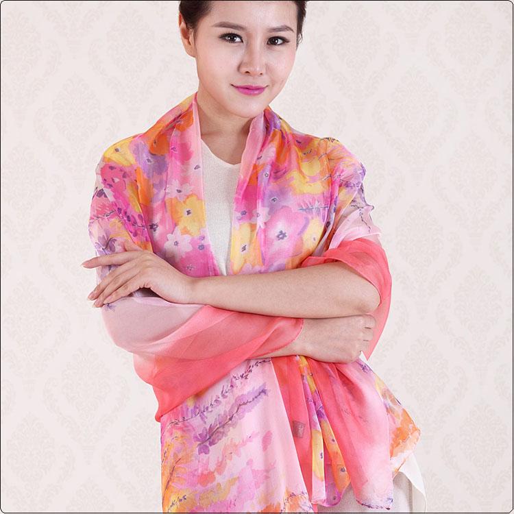 lavender printed scarves wholesale china scarf