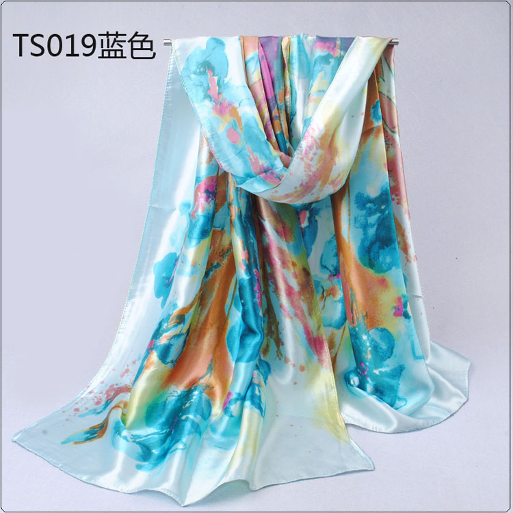 light ink digital printed scarves wholesale china scarf
