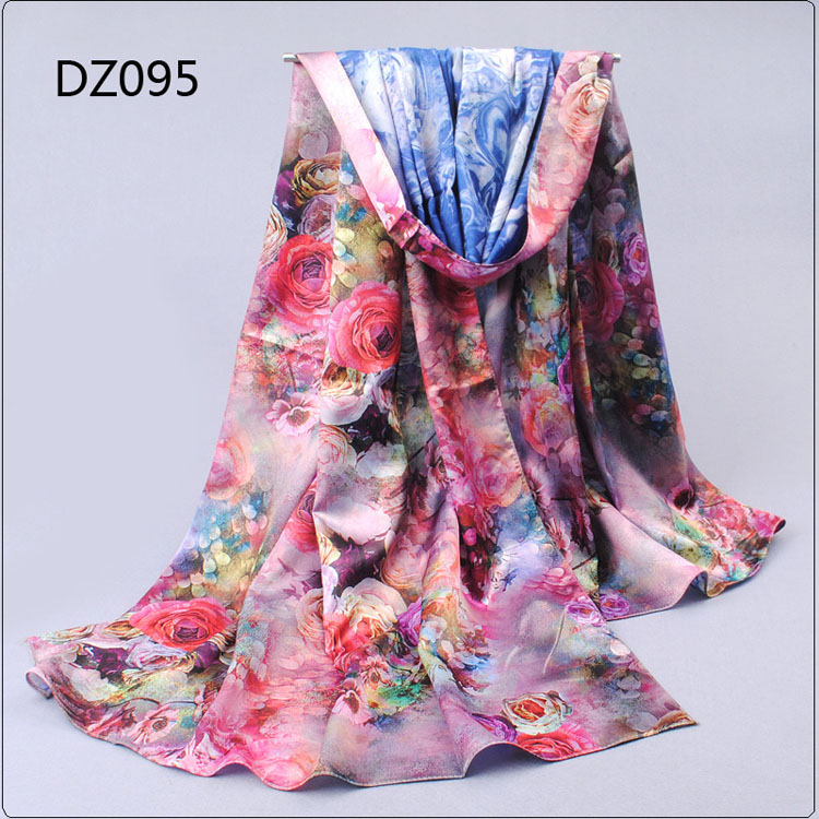 digital printing silk scarves wholesale china scarf