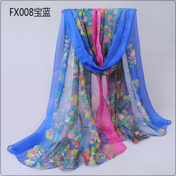 butterfly embellishment printed scarves wholesale china scarf