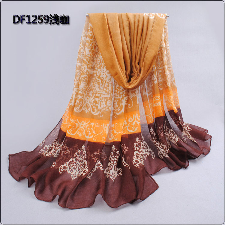 fashion lace color scarves wholesale china scarf