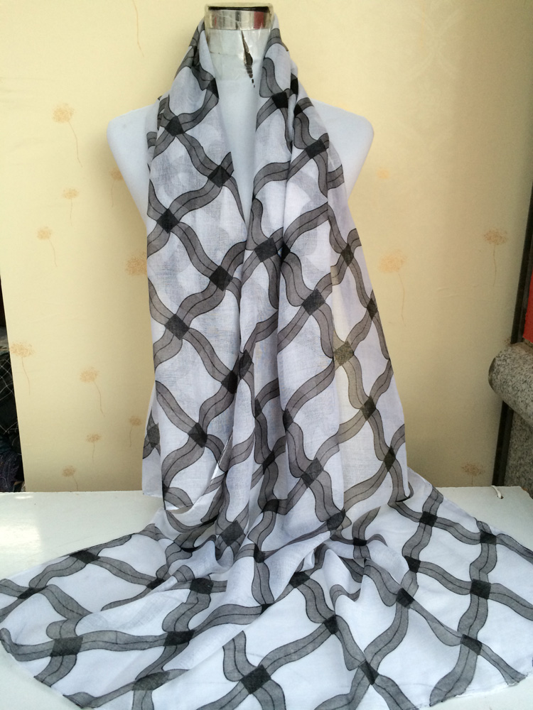 Woman scarf plaid scarf wholesale