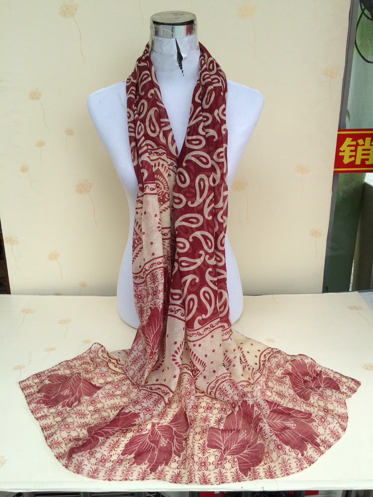 paisley trendy scarf china scarf