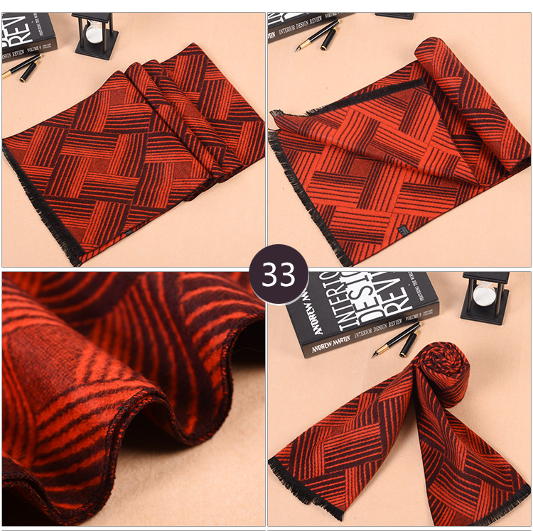 mens modal fringed scarf wholesale china scarf