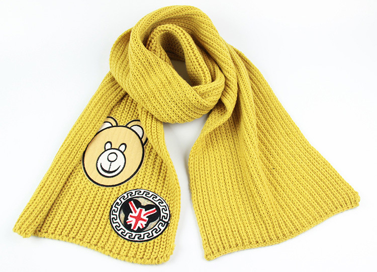 Wool kids winter scarf wholesale