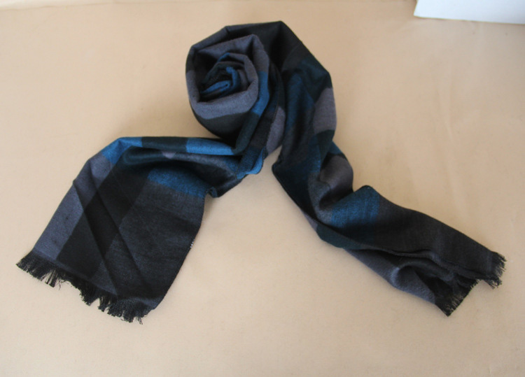 Cotton plaid scarf wholesale