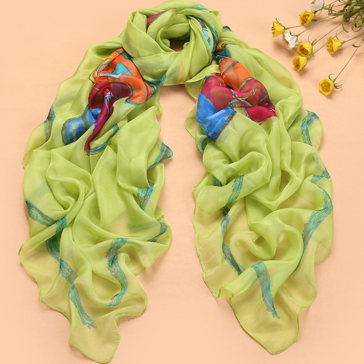 Chinese silk scarves wholesale