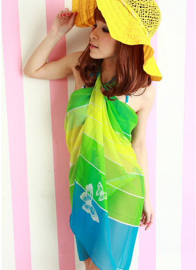 Beach sarong scarves for women