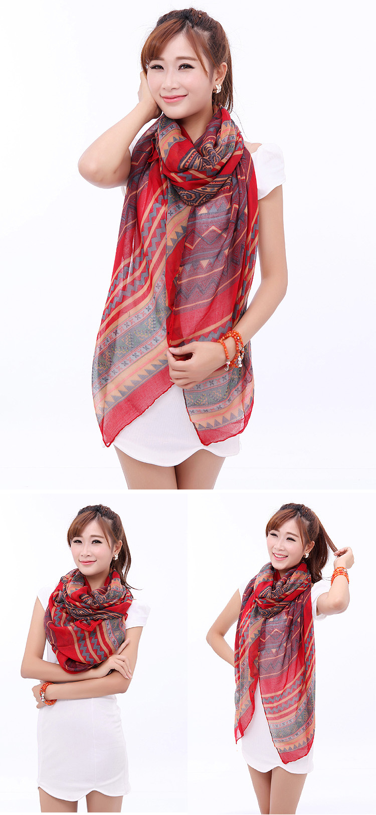 Beach scarf sarong wholesale