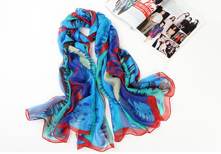 Wholesale silk scarf women shawl
