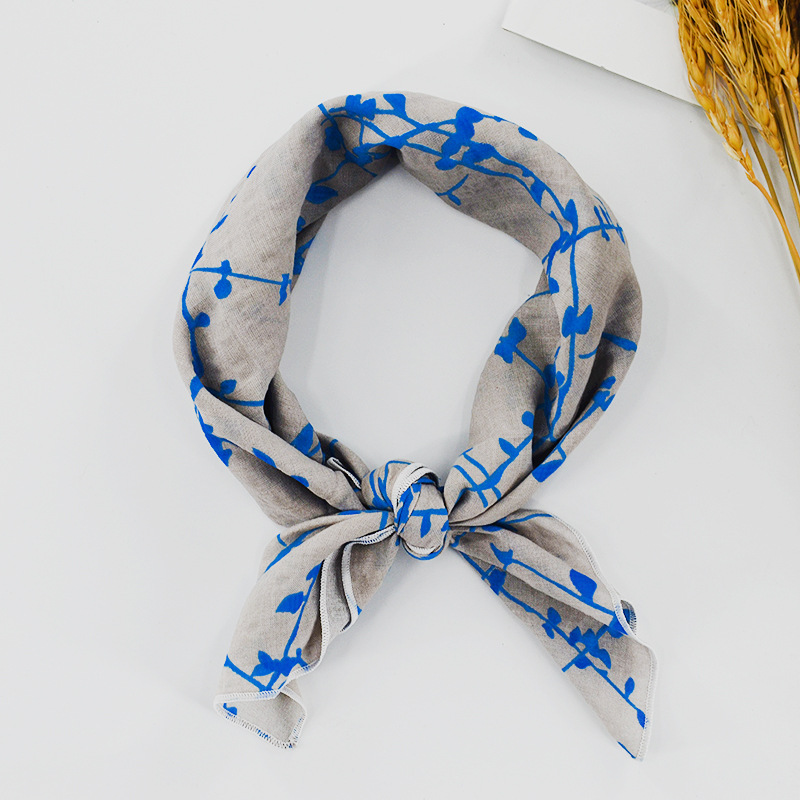 New fashion silk scarf wholesale square scarf