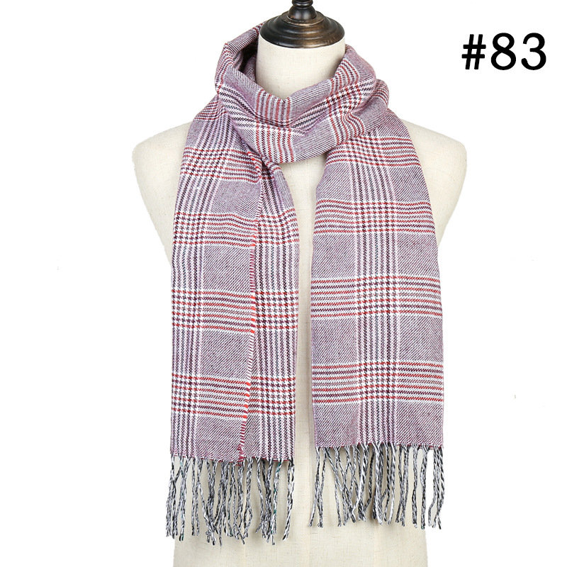 New ladies fringed cashmere scarf