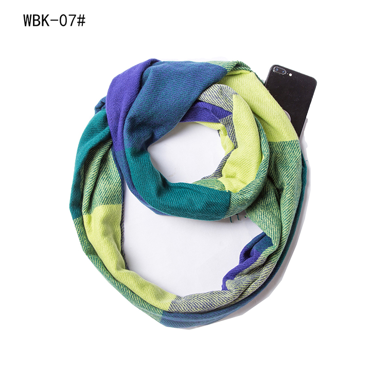 cotton thick plaid scarf wholesale