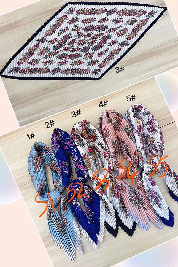 Wholesale pleated women silk scarf Germany