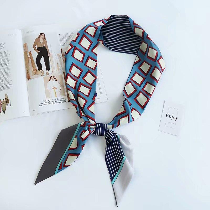 Silk women Headband neckTie Scarf Canada