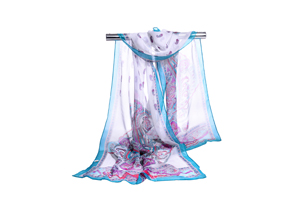 Female national snow spinning scarf wholesale