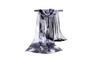 Female mixed color chiffon scarf wholesale