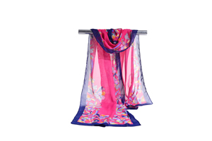 Female clovers chiffon scarf wholesale