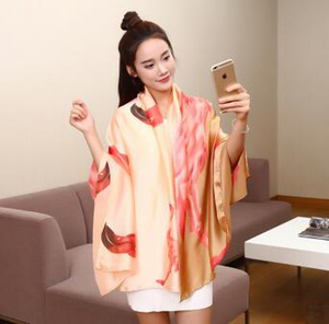 Emulation silk fabric changed female scarf wholesale