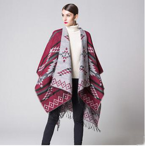 Diamond national wind travel tassel fork shawl scarf wholesale