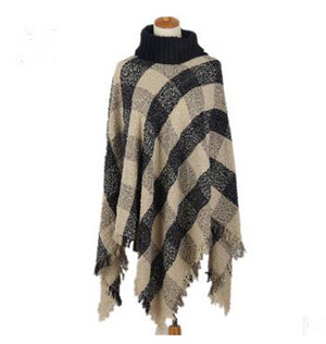 Female winter loose cloak shawl scarf wholesale