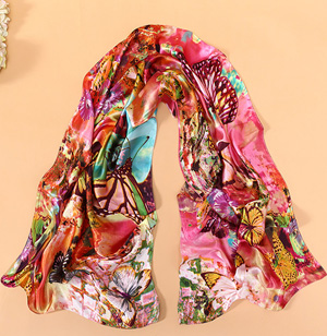 Wholesale silk scarf shanghai