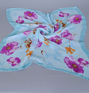 Wholesale scarf square chiffon