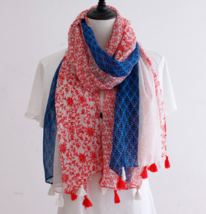 Viscose silk scarf for sale