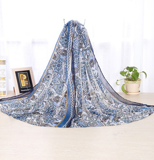 Wholesale silk scarf shawls