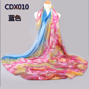 Wholesale rose and fritillary women beach scarves