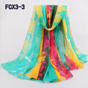 Wholesale star colorful women beach scarves for promotion