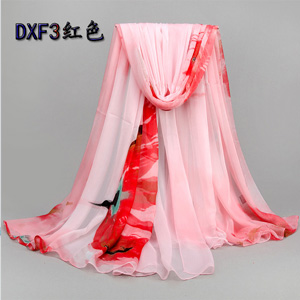 Wholesale pink women beach scarves for promotion