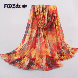 Wholesale China silk beach scarves