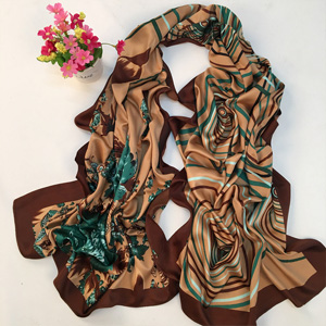 Wholesale China satin silk scarves