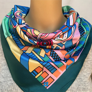 Wholesale China hot item silk scarves
