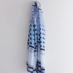 Korea cute women 100% cotton scarves