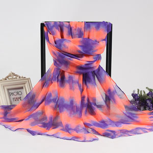 Summer beach scarves for promotion