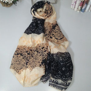 Bali cotton beach scarves