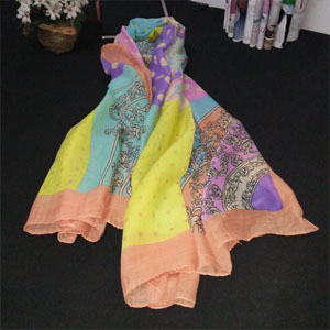 Bali women scarf for promotion
