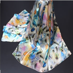 Italy Fashion wholesale silk women scarves
