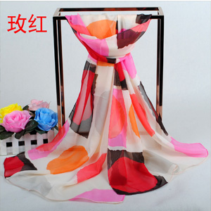 Rose circle style women scarves
