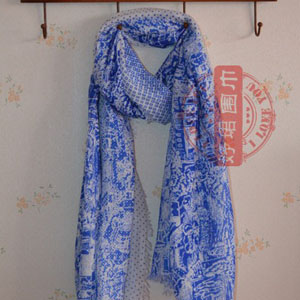 Germany Wholesale women cotton scarves