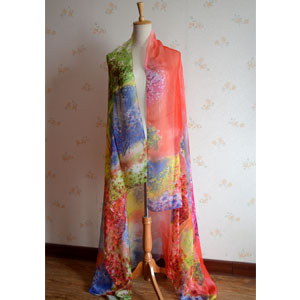 China Peony wholesale women beach scarves