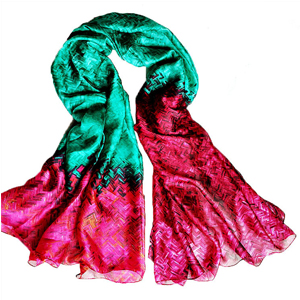 women silk France scarves