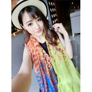 Wholesale 100% silk scarf