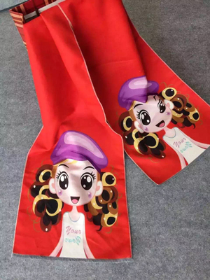 Children digital printing imitation cashmere scarf wholesale