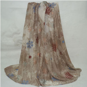 100% viscose women scarves