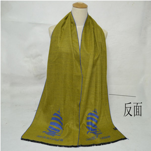 Yellow cashmere wholesale women scarves