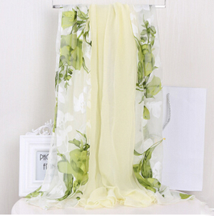 Long high-grade female silk jacquard scarf wholesale